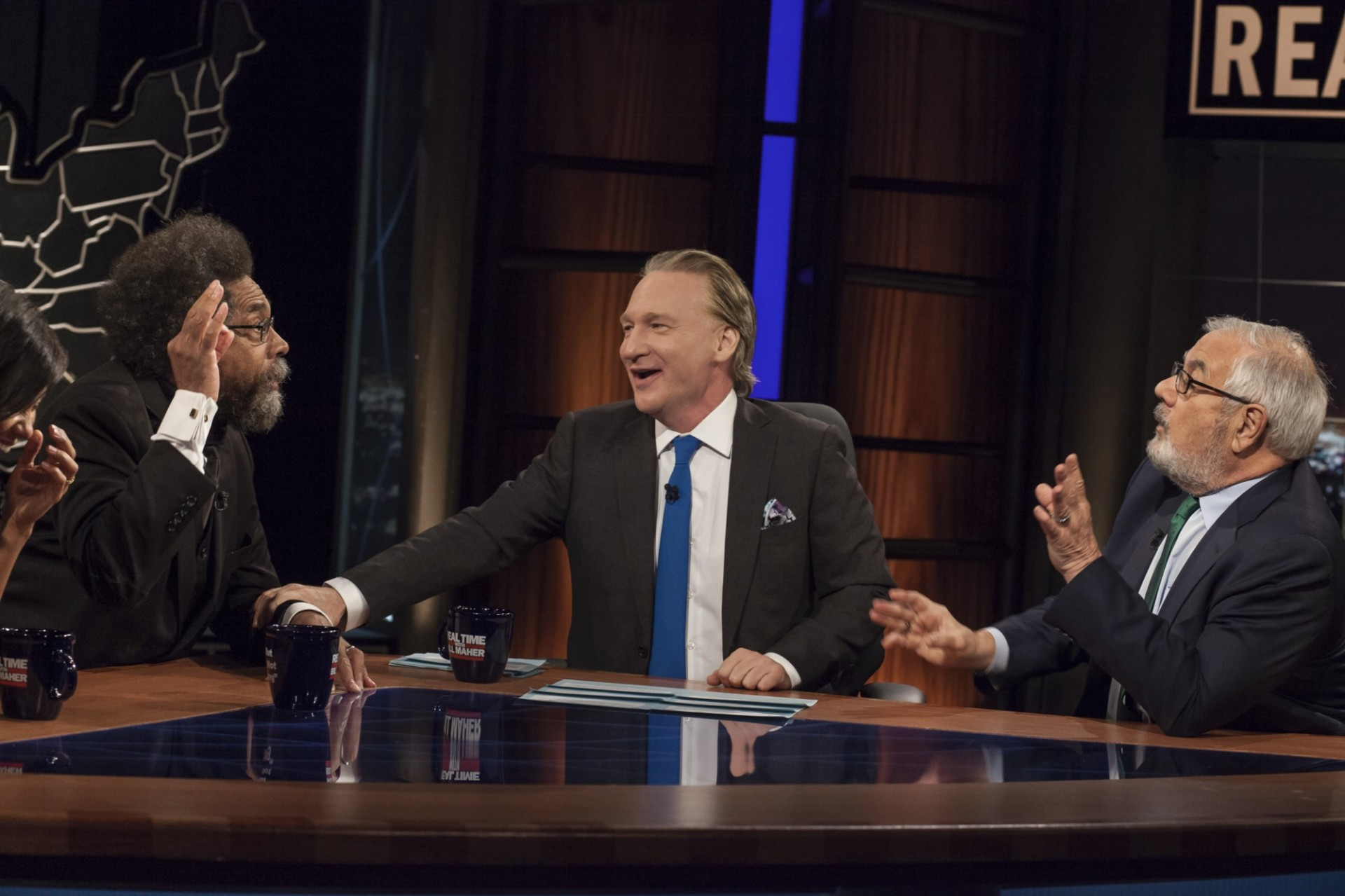 Cornel West brings heat to Bill Maher!