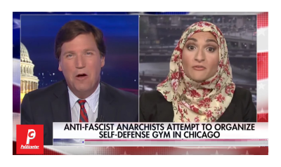 "Antifa Style Gym for Fighting Trump Voters!  Tucker Asks, ""Why Chicago?"""