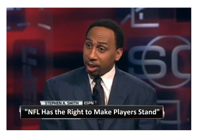 """It's a Fact, NFL Has Right to Make Players Stand"" ESPN's Tone is Changing!"